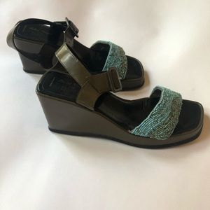Robert Clergerie Shoes - Robert Clergerie for Barney's Platforms size 9